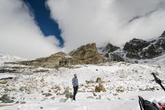 Pause auf 2900 Meter
