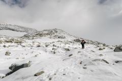 Anstieg bei ca. 3000 Meter