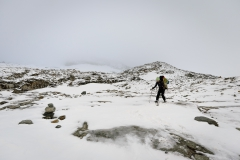 Umgedreht auf ca. 3100 Meter
