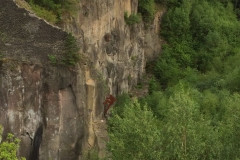 Basaltsteinbrüchen in Mayen-Ettringen