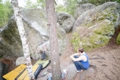 Fontainebleau - Apremont - Égoïste (assis) - 7a+
