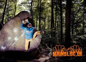 Bouldern im Odenwald - MD Gedächtsnisblock