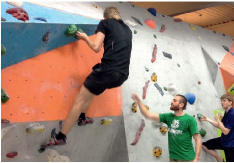 Bouldern als Teamevent