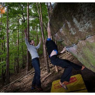 Bouldern in der Pfalz – Haardt