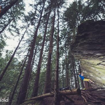 Bouldern im Zillertal – Ginzling Wald