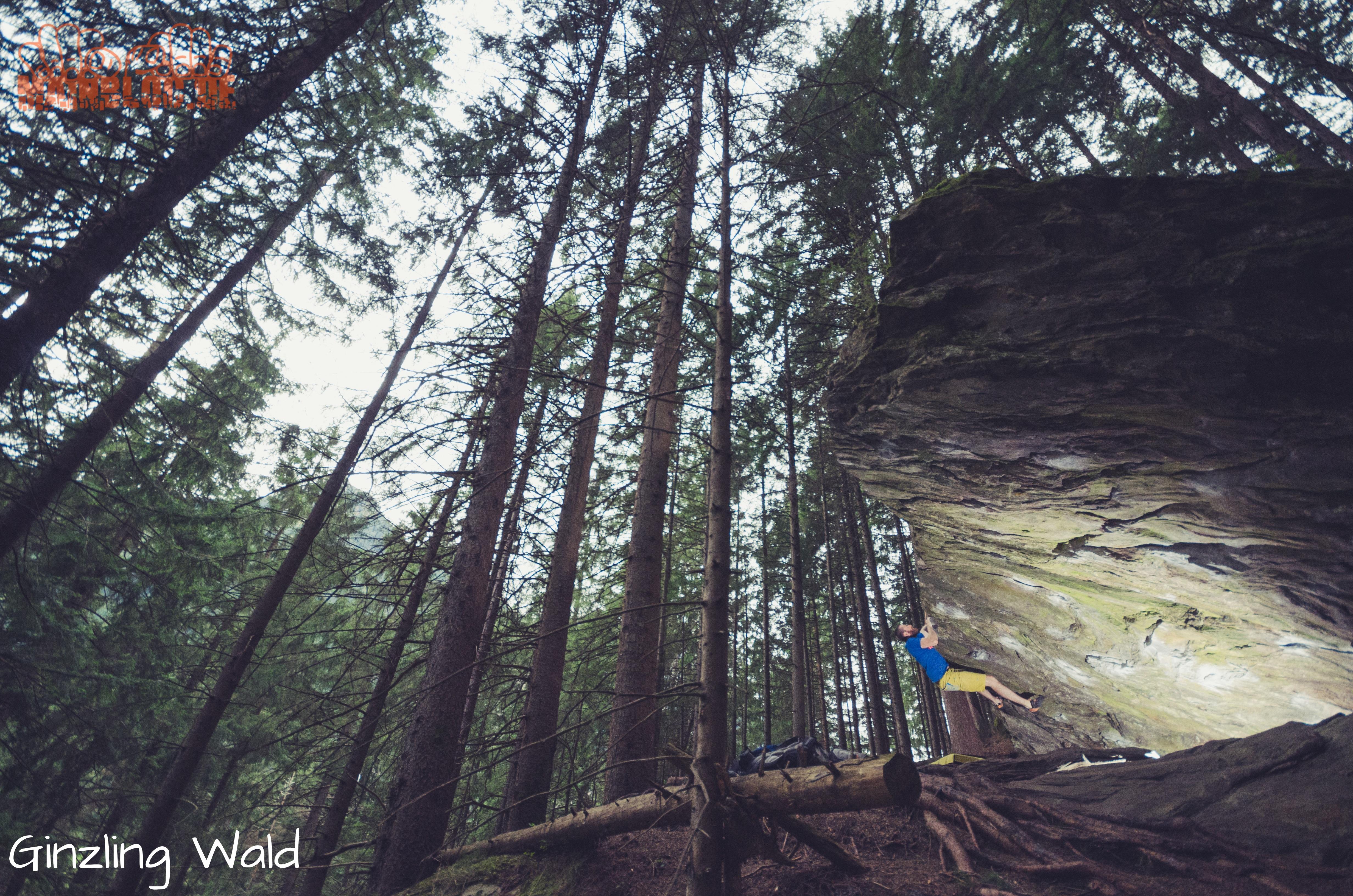 Zillertal - Ginzling Wald - Bouldern