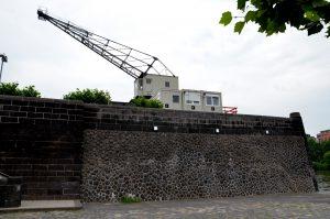 Ruhrorter Werft, Buildering, Bouldern, Frankfurt am Main, Rhein-Main