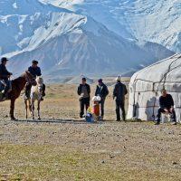 Pik Lenin, Kirgisien