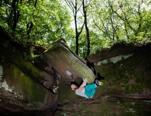 Bouldern in der Pfalz – Kalmit