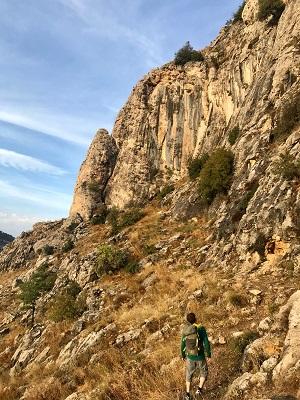 Klettern im Libanon