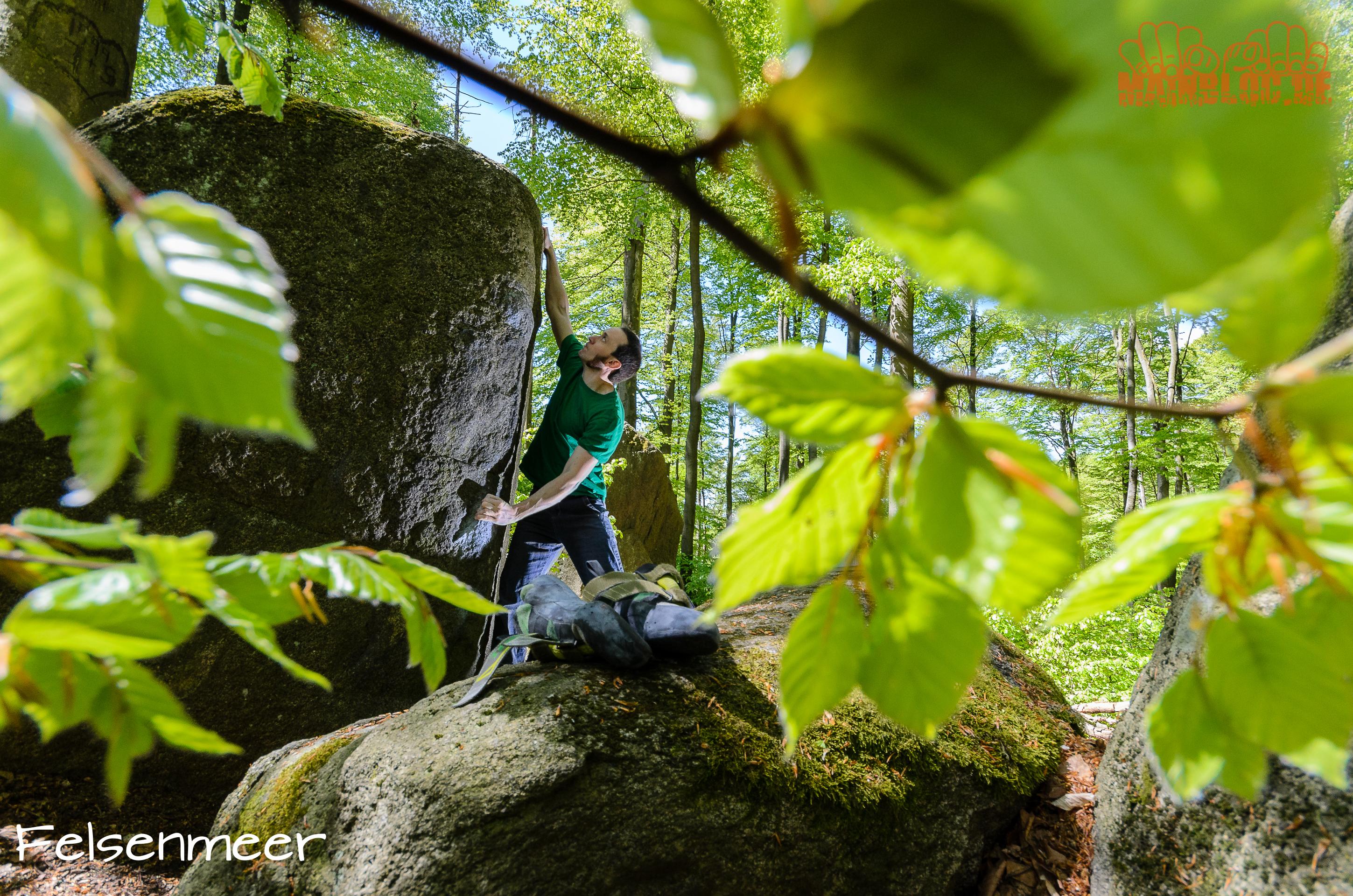 Odenwald, Bouldern, Felsenmeer, Rhein-Main